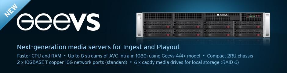 EditShare Geevs Broadcast Servers - ASAPRO