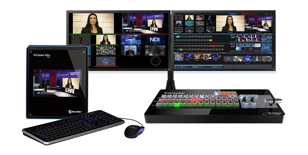 NewTek TriCaster® Mini Advanced